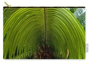 Closeup Of A Palm Tree Leaf Carry-all Pouch