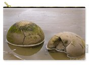 Closeup Of Famous Spherical Moeraki Boulders In Nz Carry-all Pouch