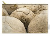 Closeup Of Famous Spherical Moeraki Boulders Nz Carry-all Pouch
