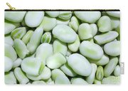 Closeup Of Fresh Fava Beans Carry-all Pouch