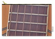 Closeup Of Guitar Art Prints Carry-all Pouch