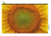 Closeup Of Sunflower Carry-all Pouch
