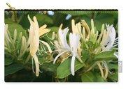 Closeup Shot Of Lonicera European Honeysuckle Flower Carry-all Pouch