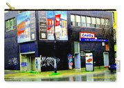 Closing Time Montreal Factory Glatts Produits Quebec Meats Graffiti Art City Scenes Carole Spandau Carry-all Pouch