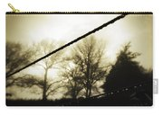 Clotheslines  Carry-all Pouch by Les Cunliffe