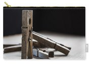 Clothespins Carry-all Pouch by Edward Fielding
