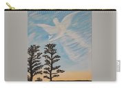 Cloud Angel In Acryics Carry-all Pouch