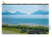 Cloud Bank At Low Tide In Homer-ak Carry-all Pouch