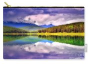 Cloud Cover On Lake Patricia Carry-all Pouch