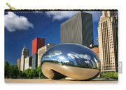 Cloud Gate Skyscrapers Carry-all Pouch