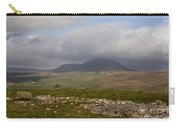 Cloud Streaming Across The Summit Of Pen-y-ghent Ribblesdale North Yorkshire England Carry-all Pouch