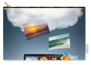 Cloud Technology Carry-all Pouch by Carlos Caetano