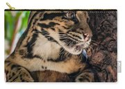 Clouded Leopard 2 Carry-all Pouch