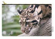 Clouded Leopard Cub Carry-all Pouch