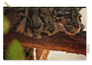 Clouded Leopard II Painted Version Carry-all Pouch