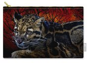 Clouded Leopard Two Carry-all Pouch