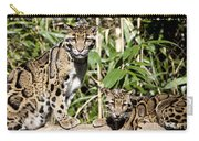 Clouded Leopards Carry-all Pouch