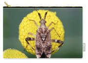 Clouded Plant Bug On Tansy Carry-all Pouch
