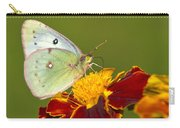 Clouded Sulphur Butterfly Carry-all Pouch