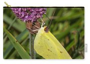 Clouded Sulphur On Clover Carry-all Pouch