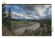 Clouds Above Eel River Carry-all Pouch