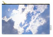 Clouds And Sunshine Carry-all Pouch