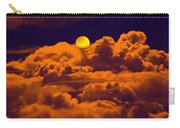Clouds And The Moon Carry-all Pouch