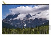 Clouds Around Mountains, Robson Carry-all Pouch