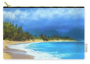 Clouds At Baldwin Beach Maui Carry-all Pouch