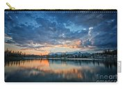 Clouds At Lower Sunset Lake Carry-all Pouch