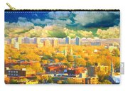 Clouds In The City Carry-all Pouch