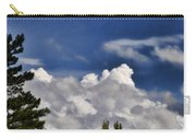 Clouds Like Mountains Behind The Pines Carry-all Pouch