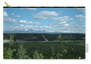 Clouds Mountains And Trees Carry-all Pouch