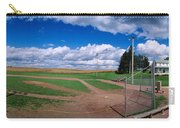 Clouds Over A Baseball Field, Field Carry-all Pouch