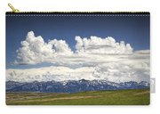 Clouds Over A Mountain Range In Montana Carry-all Pouch