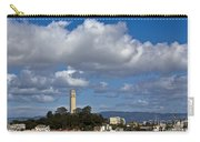 Clouds Over Coit Tower Carry-all Pouch