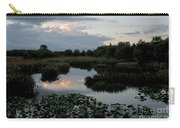 Clouds Over Green Cay Wetlands Carry-all Pouch by Mark Newman
