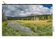 Clouds Over Hat Lake Carry-all Pouch