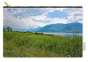 Clouds Over Jackson Lake In Grand Teton National Park-wyoming Carry-all Pouch