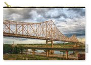 Clouds Over King Bridge Carry-all Pouch