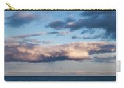 Clouds Over The Atlantic Ocean At Dusk Carry-all Pouch