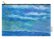 Clouds Over The Blue Ridge Carry-all Pouch