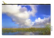 Clouds Over The Grasses Carry-all Pouch