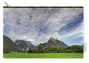 Clouds Over The Mountains Carry-all Pouch