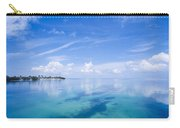 Clouds Over The Ocean, Florida Keys Carry-all Pouch