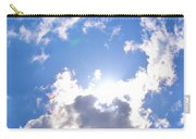 Clouds With Sunshine Carry-all Pouch