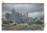 Cloudy Atlanta Capital Of The South Carry-all Pouch