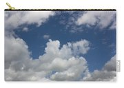 Cloudy Blue Sky Carry-all Pouch