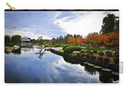 Cloudy Garden Reflections Carry-all Pouch