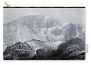Cloudy Misty Pikes Peak Carry-all Pouch